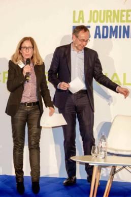 JAAM 22/11/2017 - Cornélia Federkeil, Secrétaire générale de l'AAM et Laurent Bazin
