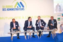 De gauche à droite : Romain Slitine, Laurent Bazin, Alain Montarant et Yannick Bournazel
