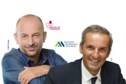 Loi Pacte - Le président de l'AAM, Pascal Demurger, et le président de la Mutualité française, Thierry Beaudet