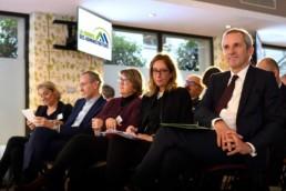 Cornélia Federkeil et Pascal Demurger à la deuxième Journée des Administrateurs de l'AAM